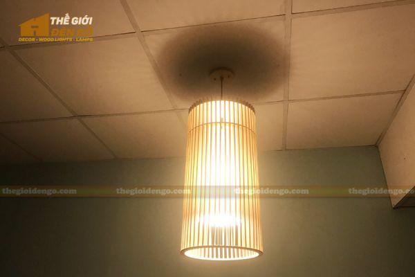 Thế Giới Đèn Gỗ - Đèn gỗ trang trí dg302-1