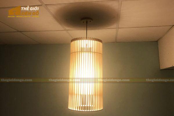 Thế Giới Đèn Gỗ - Đèn gỗ trang trí dg302-2
