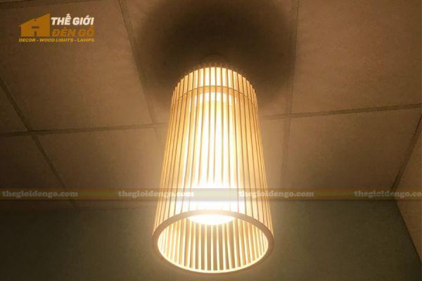 Thế Giới Đèn Gỗ - Đèn gỗ trang trí dg302-3