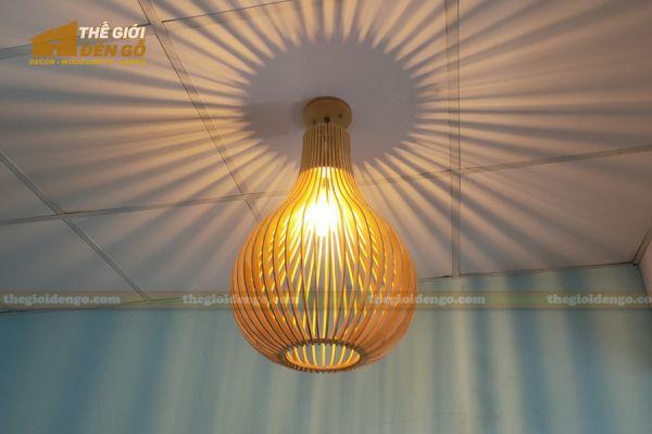 Thế Giới Đèn Gỗ - Đèn gỗ trang trí dg303-4