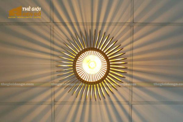 Thế Giới Đèn Gỗ - Đèn gỗ trang trí dg303-6