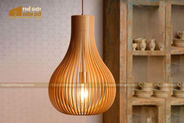 Thế Giới Đèn Gỗ - Đèn gỗ trang trí dg303