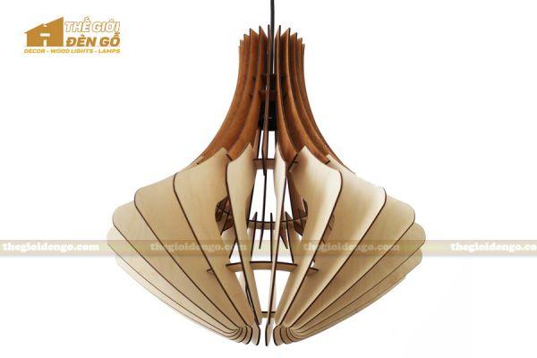 Thế Giới Đèn Gỗ - Đèn gỗ trang trí dg305-1
