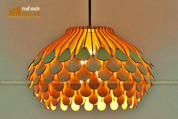 Thế Giới Đèn Gỗ - Đèn gỗ trang trí dg307 - 1