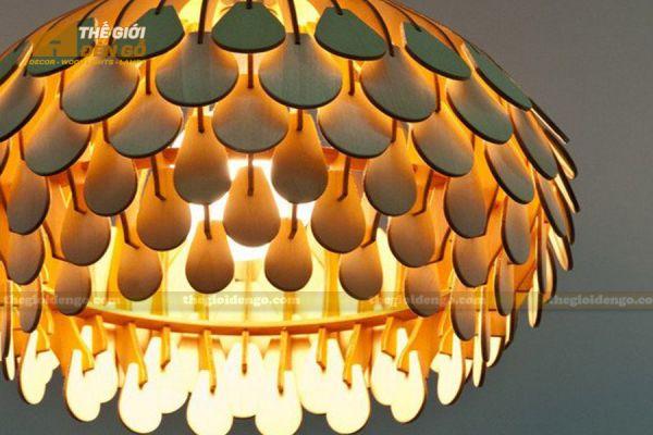 Thế Giới Đèn Gỗ - Đèn gỗ trang trí dg307 - 2