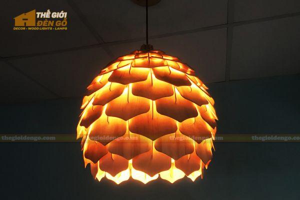 Thế Giới Đèn Gỗ - Đèn gỗ trang trí dg308
