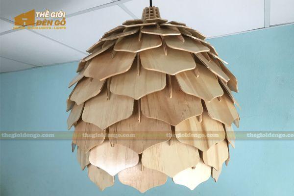 Thế Giới Đèn Gỗ - Đèn gỗ trang trí dg308 - 4
