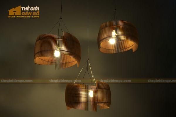 Thế Giới Đèn Gỗ - Đèn gỗ trang trí dg309 - 1
