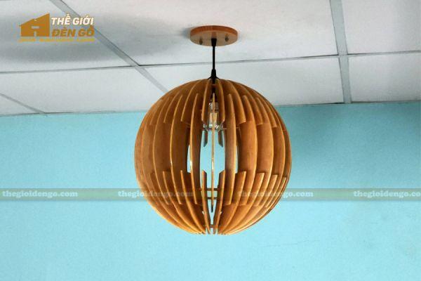 Thế Giới Đèn Gỗ - Đèn gỗ trang trí dg313 - 4