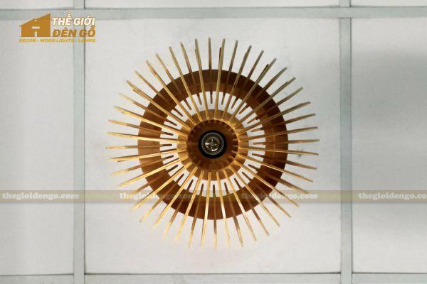 Thế Giới Đèn Gỗ - Đèn gỗ trang trí dg313 - 6
