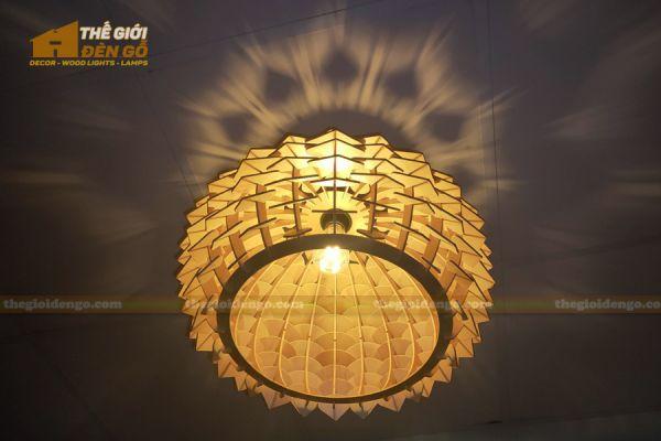 Thế Giới Đèn Gỗ - Đèn gỗ trang trí dg316-2