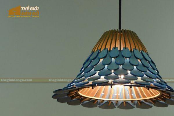 Thế Giới Đèn Gỗ - Đèn gỗ trang trí dg317-1