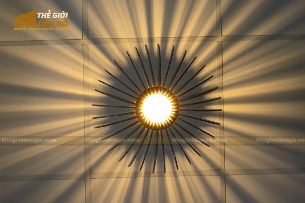 Thế Giới Đèn Gỗ - Đèn gỗ trang trí mỏ neo 5