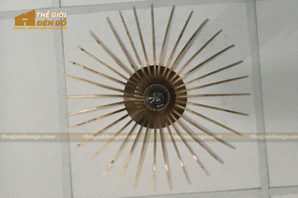 Thế Giới Đèn Gỗ - Đèn gỗ trang trí mỏ neo 6