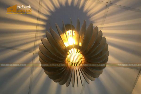 Thế Giới Đèn Gỗ - Đèn gỗ trang trí mỏ neo 7