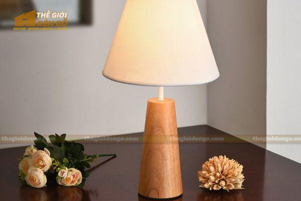 Thế Giới Đèn Gỗ - Đèn gỗ trang trí để bàn DGB027-1