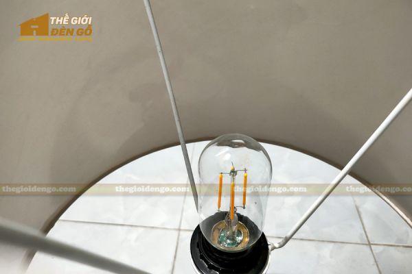 Thế Giới Đèn Gỗ - Đèn gỗ trang trí để bàn DGB027-4