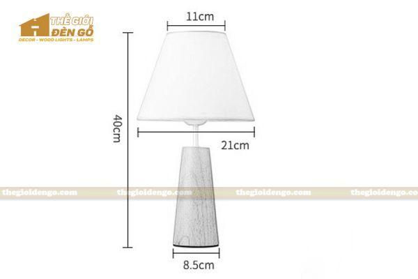 Thế Giới Đèn Gỗ - Đèn gỗ trang trí để bàn DGB027-5