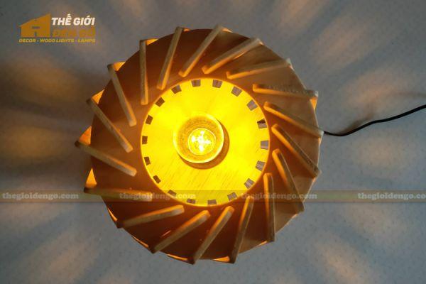 Thế Giới Đèn Gỗ - Đèn gỗ trang trí để bàn DGB011 - 4