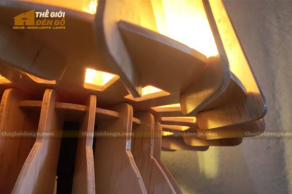 Thế Giới Đèn Gỗ - Đèn gỗ trang trí để bàn DGB011 - 5