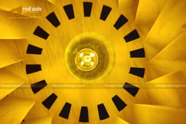 Thế Giới Đèn Gỗ - Đèn gỗ trang trí để bàn DGB011 - 6