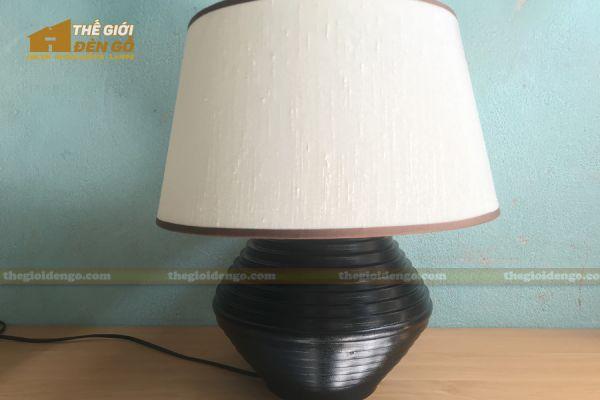 Thế giới đèn gỗ - Đèn gỗ trang trí để bàn TGDG-18-2