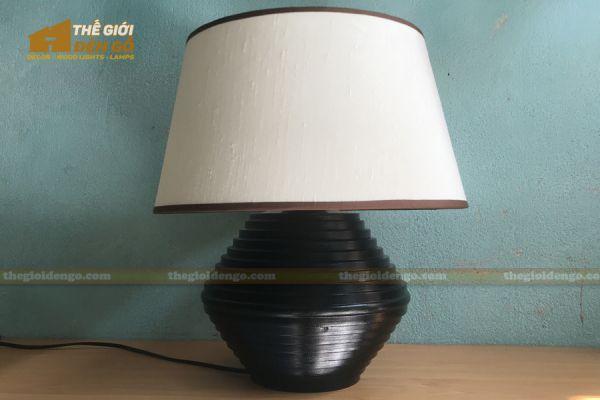 Thế giới đèn gỗ - Đèn gỗ trang trí để bàn TGDG-18