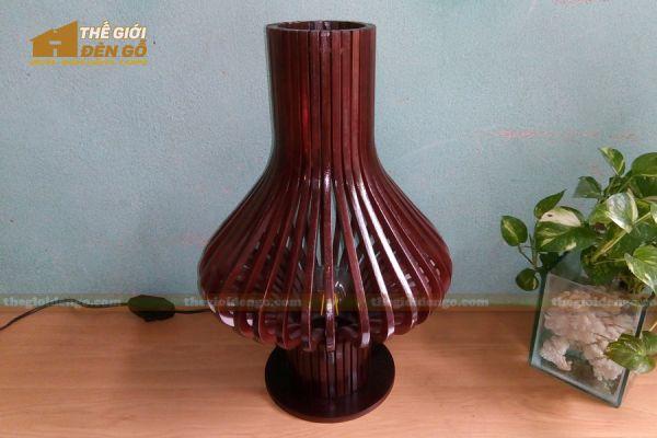Thế Giới Đèn Gỗ - Đèn gỗ trang trí để bàn DGB016-3