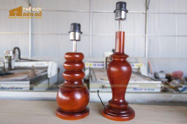 Thế Giới Đèn Gỗ - Đèn gỗ trang trí để bàn DGB022 - 2