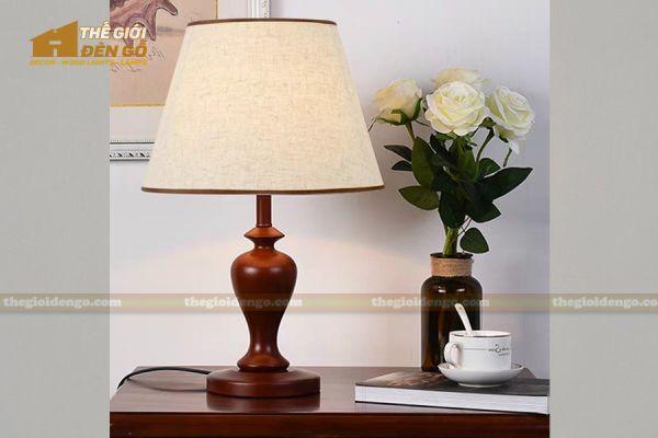 Thế Giới Đèn Gỗ - Đèn gỗ trang trí để bàn DGB024