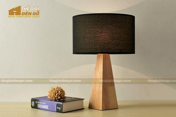 Thế Giới Đèn Gỗ - Đèn gỗ trang trí để bàn DGB025-1