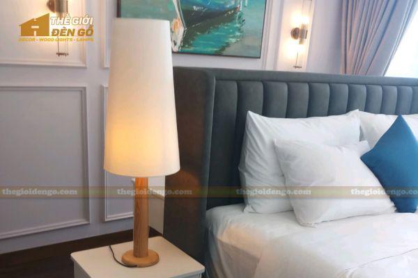 Thế Giới Đèn Gỗ - Đèn gỗ trang trí để bàn DGB026-1