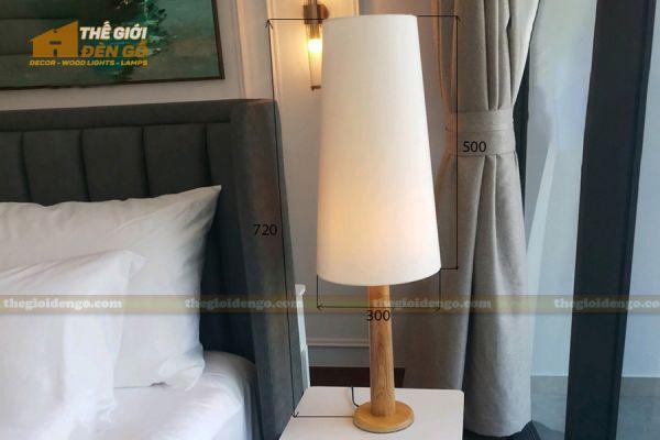 Thế Giới Đèn Gỗ - Đèn gỗ trang trí để bàn DGB026-5