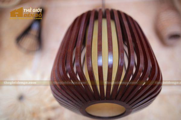 Thế Giới Đèn Gỗ - Đèn gỗ trang trí mận rừng 3
