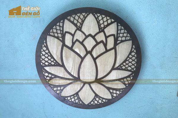 Thế Giới Đèn Gỗ - Đèn gỗ trang trí treo tường DGW040 - 6