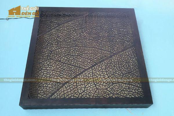 Thế Giới Đèn Gỗ - Đèn gỗ trang trí treo tường DGW041 - 4