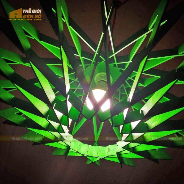 Thế Giới Đèn Gỗ - Đèn gỗ trang trí DG300-2
