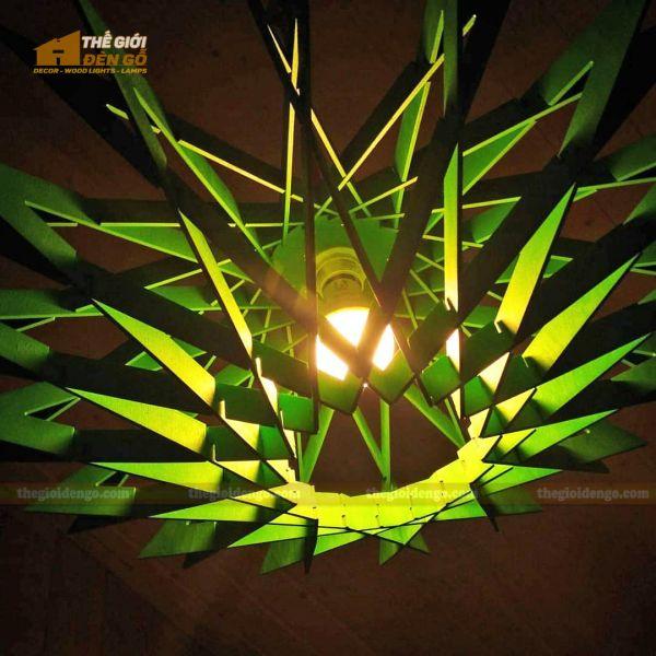 Thế Giới Đèn Gỗ - Đèn gỗ trang trí DG300-3
