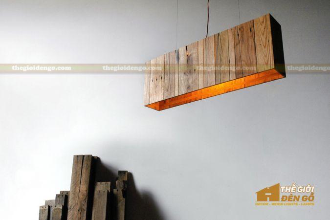 Thế giới đèn gỗ - Hộp đèn gỗ DG111-1