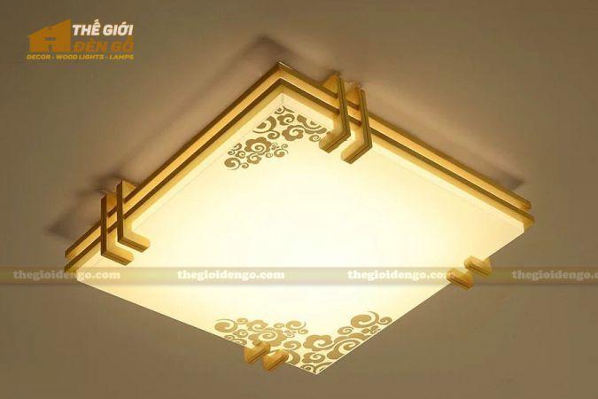 Thế giới đèn gỗ - Hộp đèn gỗ DG112-1