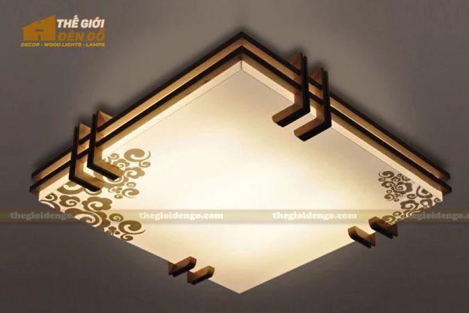 Thế giới đèn gỗ - Hộp đèn gỗ DG112-3