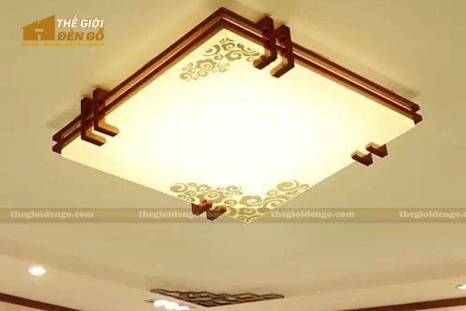 Thế giới đèn gỗ - Hộp đèn gỗ DG112