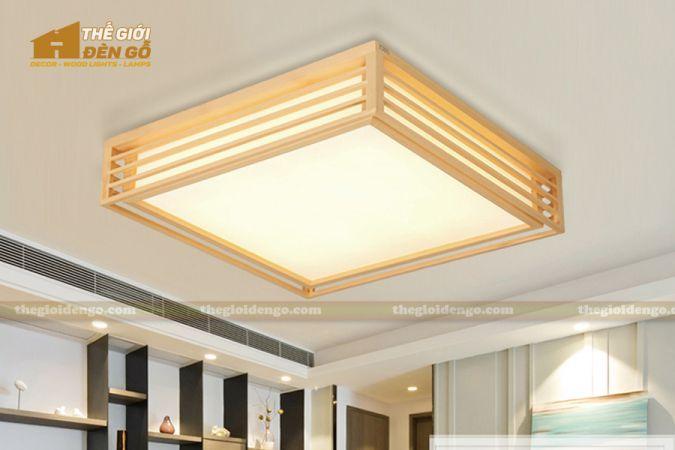 Thế Giới Đèn Gỗ - Hộp đèn gỗ DG114-1