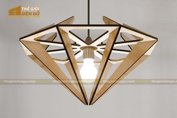 Thế Giới Đèn Gỗ - 15 mẫu đèn gỗ trang trí hot nhất đầu năm 2020 - DG238