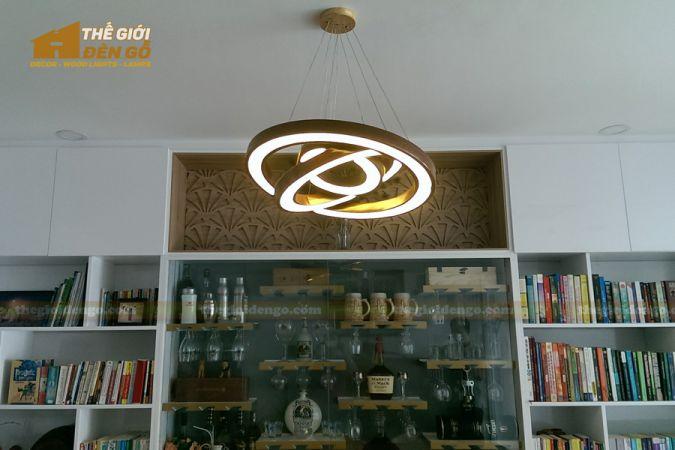 Thế Giới Đèn Gỗ - Đèn gỗ trang trí dg256-2
