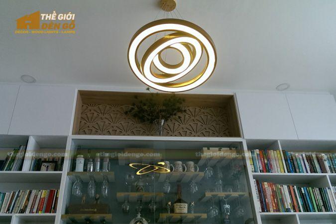 Thế Giới Đèn Gỗ - Đèn gỗ trang trí dg256-3