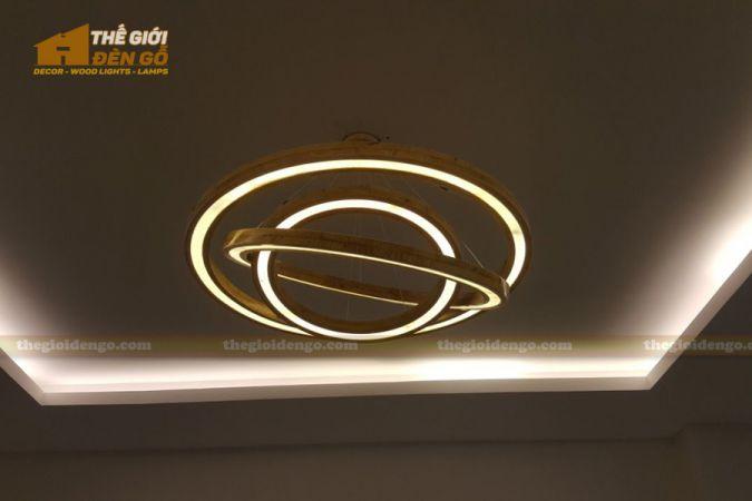 Thế Giới Đèn Gỗ - Đèn gỗ trang trí dg256-5