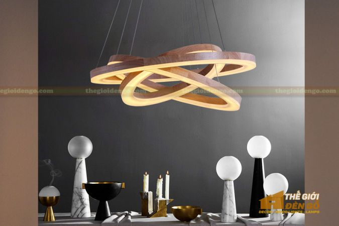 Thế Giới Đèn Gỗ - Đèn gỗ trang trí dg256