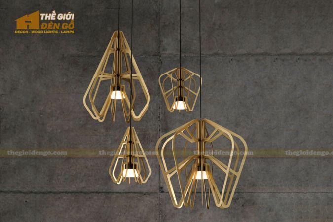 Thế Giới Đèn Gỗ - Đèn gỗ trang trí dg262-1