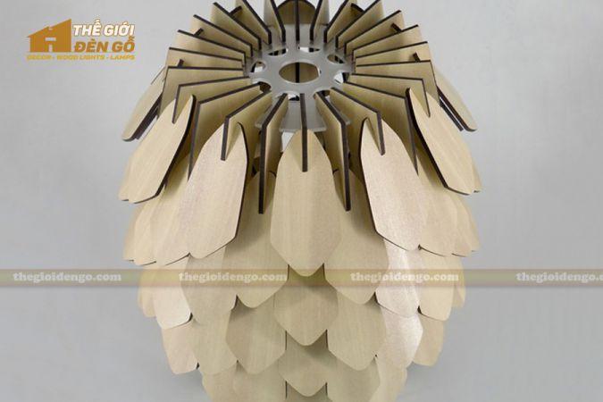 Thế Giới Đèn Gỗ - Đèn gỗ trang trí dg267-1